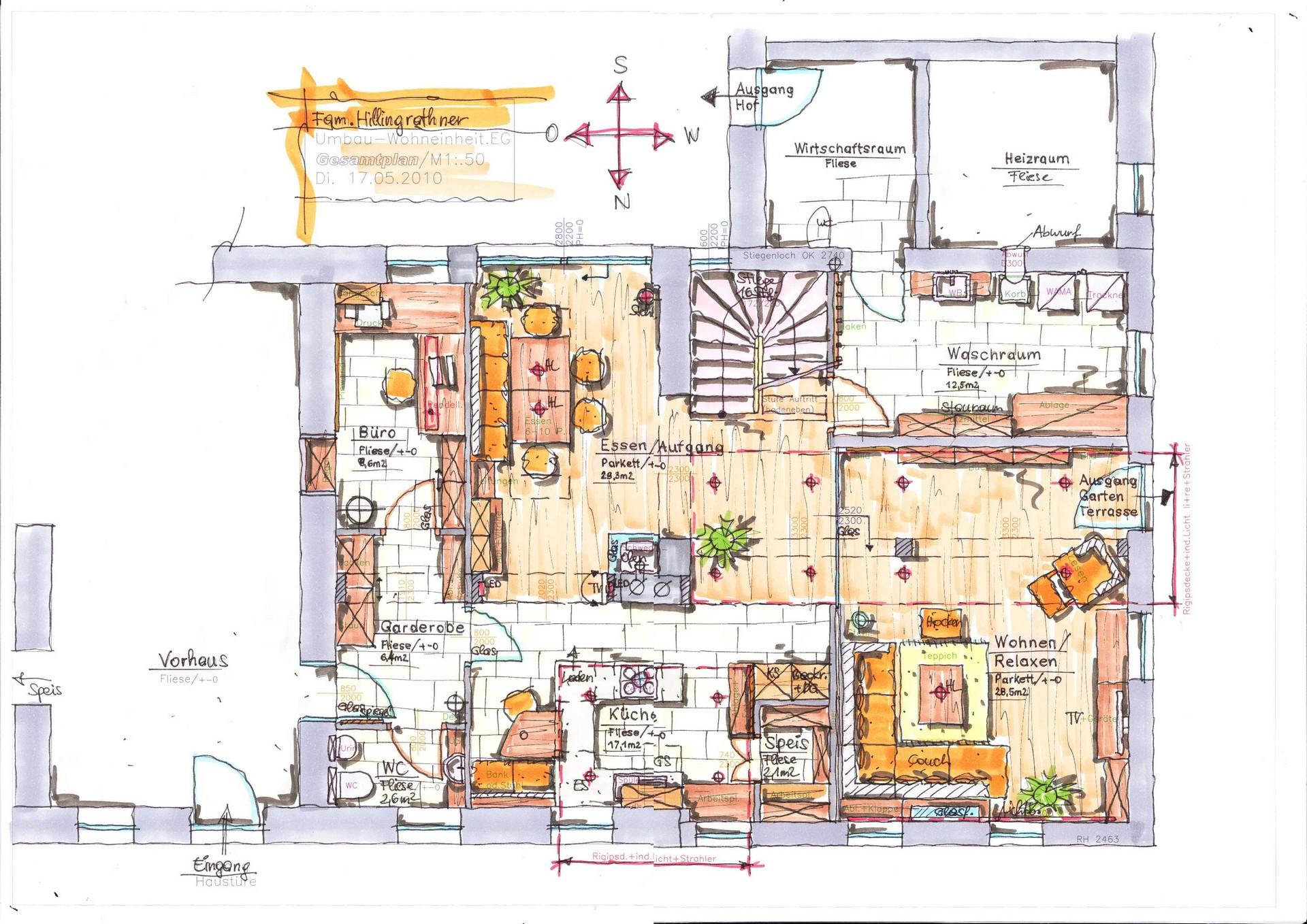 Innenarchitekten Praktikum Ferrara Architekten Ag